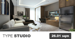 Apartemen Vasanta Innopark. Studio 26m2