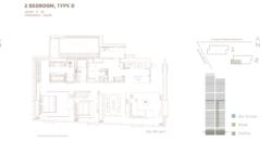 Casa Domaine Sudirman 2+1br 148sqm semi furnish ins 60x