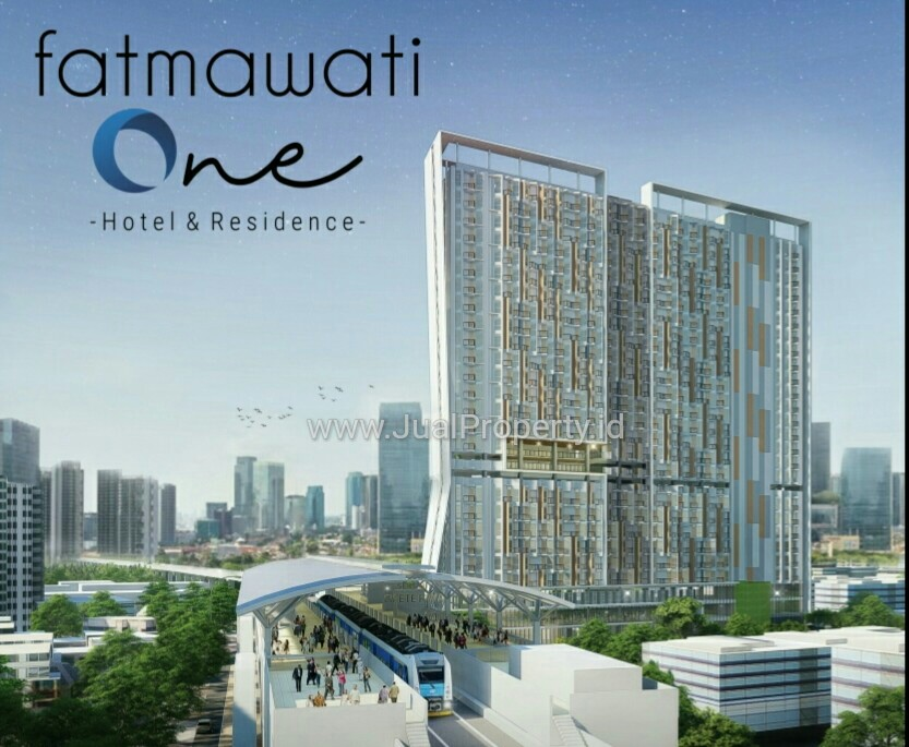 [ FATMAWATI ONE Apartment] 10 step from CIPETE MRT Station.