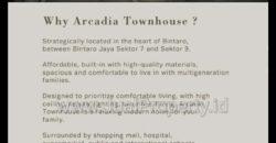 The Arcadia Bintaro. 3 menit dari TransPark Bintaro Sek.7. Dp mulai 5%