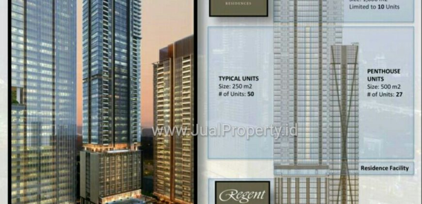 The Regent Residences – 251sqm Penthouse