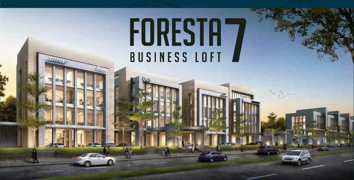Foresta Business Loft 7 – Premium lo-rise Office & Business center in CBD, BSD