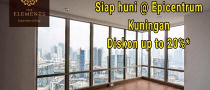 Lux Apartement siap huni selangkah menuju epicentrum kuningan by Sinarmas Land