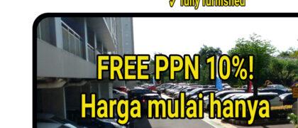 Bintaro Parkview. Apartemen mewah murah di Jakarta selatan.Limited!